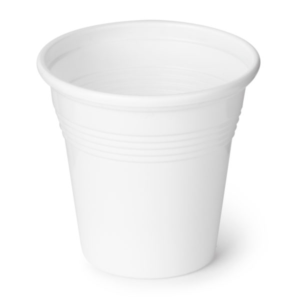 Vaso 80cc blanco