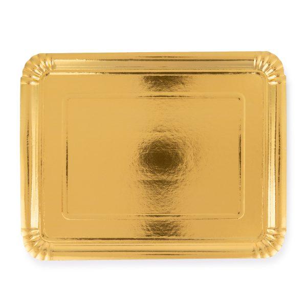 gold tray