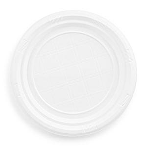 PLASTIC PLATE 22 CM
