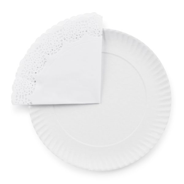 WHITE RODAL PLATE PAPER