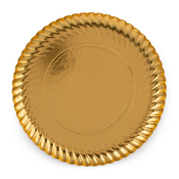 GOLD RODAL PLATE